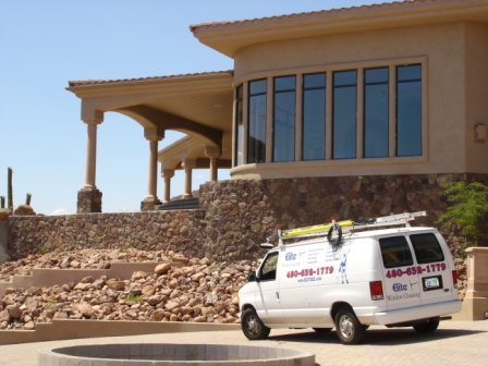Arizona window cleaning, AZ Elite window cleaning